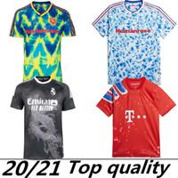 20 21 Arsen Manchester Cavani United UTD X Pharrell Williams Humanrace Madrid Soccer Jerseys Special 2020 Men + Bambini Camicia