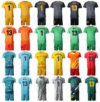 كرة القدم حارس المرمى GK حارس المرمى 1 مارك أندريه تير شتيغن جيرسي مجموعة 13 نوربيرتو نيتو فيكتور فالديز 1 أنتوني الأزرق الأسود لكرة القدم قميص أطقم BSLN