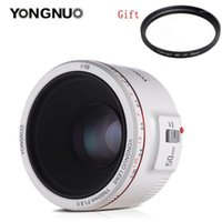 Other CCTV Cameras YONGNUO YN50mm F1.8 II Large Aperture Auto Focus Lens With Super Bokeh Effect For Canon EOS 70D 5D2 5D3 600D DSLR Camera
