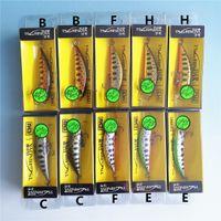 Tsurinoya 10 pcs afundando minnow isca de pesca 5 cm 5g inverno isca artificial duro 3d olhos pesca wobblers crankbait minnows 201030