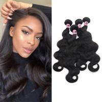 Намимеюты бразильские девственницы пакеты волос тела волна 4 штуки 100% необработанные наращивания человеческих волос натуральный цвет
