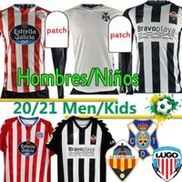 2020 21 CD Lugo Tenerife Castellon Futebol Jersey Camisetas Rodriguez Barreiro Bermejo Jamelli Chándal de Fútbol Homens Futebol Shirts Uniformes