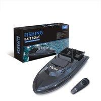 EU / EE.UU. Flytec Camuflaje RC Boat 500m Control remoto inalámbrico de pesca de pesca Barco de cebo con luz de noche LED control de radio