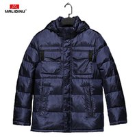 MALIDINU High Quality Men Jacket Winter Thick Brand 70%White Duck European Size Down Coat Free Shipping 201021