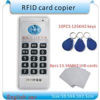 125kHz -13.56 MHz RFID ID / IC NFC Card Reader / Copieur / Programmer + EM4100 / EM4305 / T5577 / M1 S50 UID Étiquette réinscriptible UID