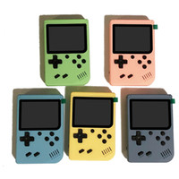 Portable Macaron Handheld Console Console Retro Video Jeux Player peut stocker 500/400 IN1 Jeux 8 bits 3,0 pouces Colorful LCD Berceau