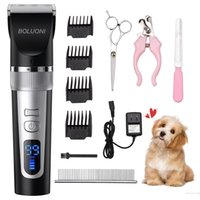 Cão Grooming Clippers Clearless Shaver Profissional Clipper Recarregável