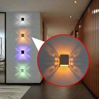 Aifeng Modern Borboleta 3W LED parede da lâmpada de parede 85-265V lâmpada de alumínio quarto de férias
