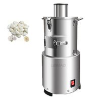 Latest hot sale stainless steel automatic household small garlic peeling machine whole garlic electric Garlic Chopped Machine