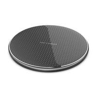 2020 HOT VENTE luxe Chargeur sans fil Chargeur rapide 5W 10W rapide Qi Pad de charge pour Apple iPhone Samsung LG Tous les appareils Qi