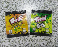 TRRLLI Mylar Bag Zipper Resealable Peachieos Sour Medicated Ediblaging Packaging 600mg Transporte Rápido 2021 Cópia Personalizada