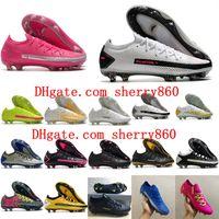 2020 Clases de fútbol para hombre de primera calidad Phantom GT Elite Tech Craft FG Soccer Zapatos Botas de fútbol Chuteiras Scarpe Da Calcio