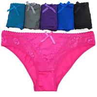 Lotto di 600 Bikini in pizzo raso caldo Slip biancheria intima delle donne per l'Angola mercato Ragazze Seta mutande signora Panties lingerie intimo