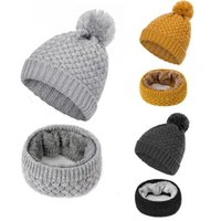 Beanie / Skull Caps Sólido Color Sombreros de punto Mujeres Invierno Foras para mujer Para Damas Moda SkullCap Femenino Cálido Beanie Hat Sombrero Ski Hats # 2