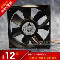 Refroidissement aux fans Delta original AFC0912D 9225 12V 0.46A 9cm à quatre fils avec ventilateur de refroidissement de vitesse réglable 92 × 92 × 25mm refroidisseur1