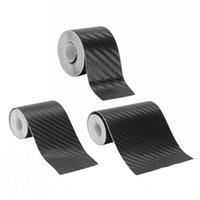 Nano Carbon Faser Autoaufkleber DIY Paste Protector Streifen Auto Tür Sill Side Spiegel Anti Kratzband Wasserdichte Schutzfolie