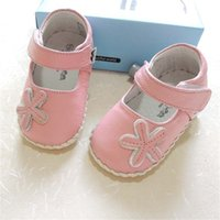 Omn Quality Genuine Baby Girls Soft Sole Infant First Walkers Pink Bawow Princess Shoes Shoes Y201028