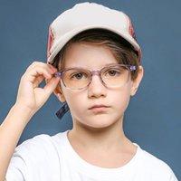 نظارات عصرية أطفال الضوء الأزرق المضادة وهج فلتر الأطفال النظارات فتاة بوي الإطار البصري حظر عدسات واضحة TR90