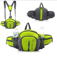 TANLUHU 322 Sac Nylon imperméable Sports de plein air Escalade Randonnée Sac à dos unisexe Sac de taille Voyage sac à main pochette