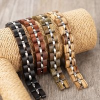 BOBO BIRD New Wooden Bracelet Men Women Wood Ladies Colorful Pulseras With Gift Box Y200730