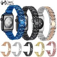 Apple-Uhrenarmband 44mm Edelstahl-Verbindungs-Armband-Band für Watch Series 4 5 6 Band 38MM 42MM Metallbügel für Apfel Uhr tudor