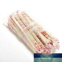 40 Çiftler Çin Chopsticks Tek Bambu Ahşap Chopsticks