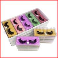 3D Mink cílios Atacado 10 estilo Falso pestana macia Natural Grosso 3d mink cabelo falso cílios cílios falsos extensão natural