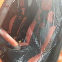 Automóviles prácticos asientos fundas de asiento de la silla del coche Transparente Films manga desechable Auto mangas caliente de la venta 0 29kl E19