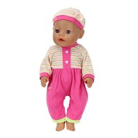 Meired Suit+ hat Clothes fit 43cm Reborn Baby Doll Clothes 40...