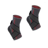 1 шт. Спортивная лодыжка поддержки комфортабельный фитнес езда, упаковочные лодыжки Brace для упражнений Баскетбольная растяжение (красный, Si1