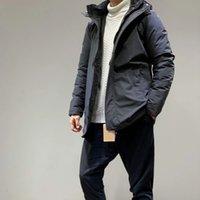 Tasarımcı Aşağı Ceket Kalınlaşmak Açık Siyah Blue Coat Sıcak Kış Moda Dış Giyim Windproof Erkek Aşağı Parkas 37031