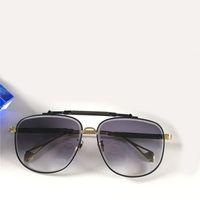 Top k gold männer eyewear auto spezielle gläser square titan rahmen oberste menge outdoor uv400 sonnenbrille der observer ii top qualität heißer verkaufen