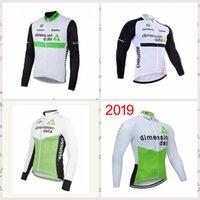 Dimension Daten Team Männer Langarm Radfahren Jersey ROPA CICLISMO MTB Bike Tops Radfahren Kleidung 010807