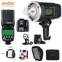 Godox AD600BM 1/8000 HSS flash GN87 + V860II-SL HSS 1/8000 Li-ion Speedlite + X1T-S Trigger, Softbox Flash Kit pour