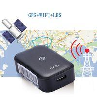 GF21 Mini-GPS-Echtzeit-Auto-Verfolger Anti-verlorenes Gerät Voice Control Recording Locator Neben einem HD-Mikrofon WIFI + LBS + GPS Pos