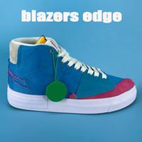 2021 nuovo bordo giacche scarpe casuali mod in valigia blu fucsia Aqua Obsidian Mist degli uomini di modo bianco delle donne delle scarpe da tennis US 5,5-11