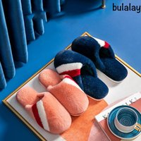 2020 new cotton slippers ladies winter home autumn and winter home furnishing plush warm indoor wool slippers men