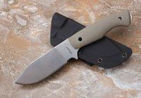 Alemanha Boy Scout faca de lâmina reta fixa D2 60HRC G10 alça faca de caça ferramentas multi xmas faca presente para homem 05159