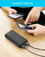 Portable Power Bank USB-Ausgabe 20000mAh-Aufladung externer Batterieladegerät Powerbank für iPhone Samsung Xiaomi Huawei