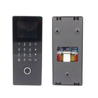 Toque biométrico touch biométrico RFID Access Access System Kit de greve Fechaduras de Tempo USB