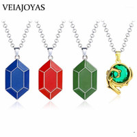 2020 New Zelda Metal Pendant Necklace HP MP Game Coin Pendant Long Link Chain Necklaces for Women collar Men Jewelry Accessories1