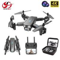 Drohnen CSJ S173 Mini Drohne mit Kamera 4k HD Professioneller Weitwinkel Selfie Wifi FPV vs Rc Quadcopter S167 DRON GPS1
