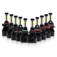 Autoscheinwerfer 4 SEITE LUMENS COB 72W 8000LM H4 HI LO H7 H1 H1 H1 H1 H1 H1 H1 H1 H1 H1 H1 9005 9006 9007 9004 LED Scheinwerferlampen Auto Scheinwerfer Licht 12V1