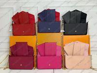 Bolsa Mulheres Saco Clássico Embossing Couro Bag Ombro Ombro Crossbody Embreagem Tote Messenger Cruz Caixa Original LB133
