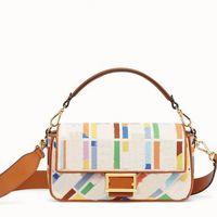سلسلة حقيبة crossbody حقيبة اليد قماش محفظة الأزياء التطريز إلكتروني خليط اللون جودة عالية hsp الأجهزة مشبك النساء محافظ