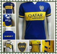 20 21 Boca Juniors Player version Soccer Jersey 2020 Away Tibet Navy DE ROSSI GAGO Soccer Shirts Cardona Benedetto Pavón football Uniform