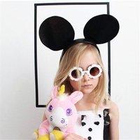 النظارات الشمسية 2021 المعادن النحل أطفال بنين بنات خمر الأطفال جولة نظارات الشمس oculos feminino الملحقات 1