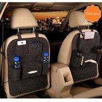 Lo nuevo 1PC del coche bolsa de almacenamiento caja universal del asiento trasero del organizador del bolso del asiento trasero del coche Holder Bolsillos-styling protector Accesorios para automóviles