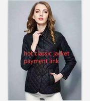 كلاسيكي حار! النساء أزياء إنجلترا قصيرة نمط رقيقة القطن مبطن سترة / أعلى جودة تصميم العلامة التجارية النساء جاكيتات M-XXXL