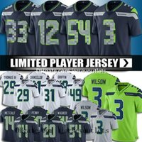 3 Russell Wilson Jersey Seattle